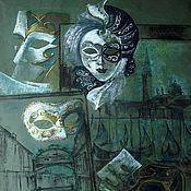 Картины и панно ручной работы. Ярмарка Мастеров - ручная работа Вспоминая Венецию. Handmade.