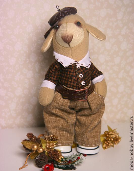 """Куклы и игрушки ручной работы. Ярмарка Мастеров - ручная работа. Купить Набор для шитья """"Барашек Шмулик"""" Модное Хобби. Handmade."""