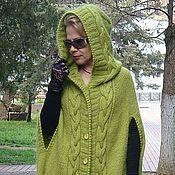 """Одежда ручной работы. Ярмарка Мастеров - ручная работа пальто-пончо """" Весна"""". Handmade."""
