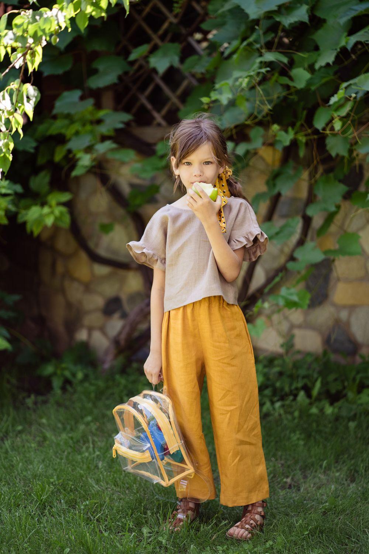 Льняной костюм «Жара», Комплекты одежды для малышей, Орск,  Фото №1