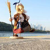 Куклы и игрушки ручной работы. Ярмарка Мастеров - ручная работа Авторскя игрушка Баба Яга Веселушка. Handmade.