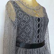 Одежда handmade. Livemaster - original item 134 dress knitted duvet, clothes, dresses casual knitted. Handmade.