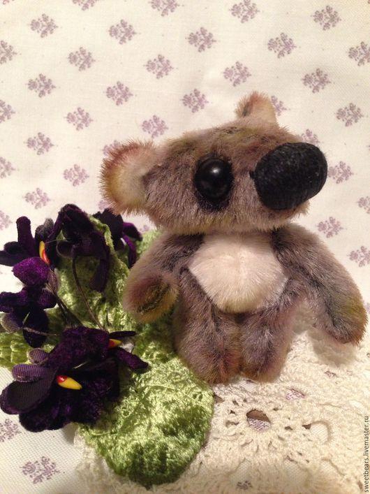 Мишки Тедди ручной работы. Ярмарка Мастеров - ручная работа. Купить Коала. Handmade. Серый, мишка ручной работы, мишки