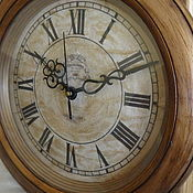 Для дома и интерьера ручной работы. Ярмарка Мастеров - ручная работа Часы настенные Английский винтаж. Handmade.
