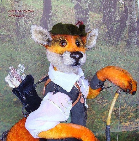 Мишки Тедди ручной работы. Ярмарка Мастеров - ручная работа. Купить плюшевый лис из Локсли-славный Фокси Гуд. Handmade.