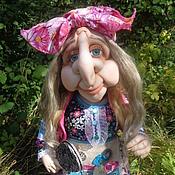 Куклы и игрушки ручной работы. Ярмарка Мастеров - ручная работа Ягуся. Кукла ручной работы.. Handmade.