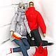 """Куклы Тильды ручной работы. Ярмарка Мастеров - ручная работа. Купить Портретные куклы """"Идеальная пара-2"""". Handmade. Пара"""