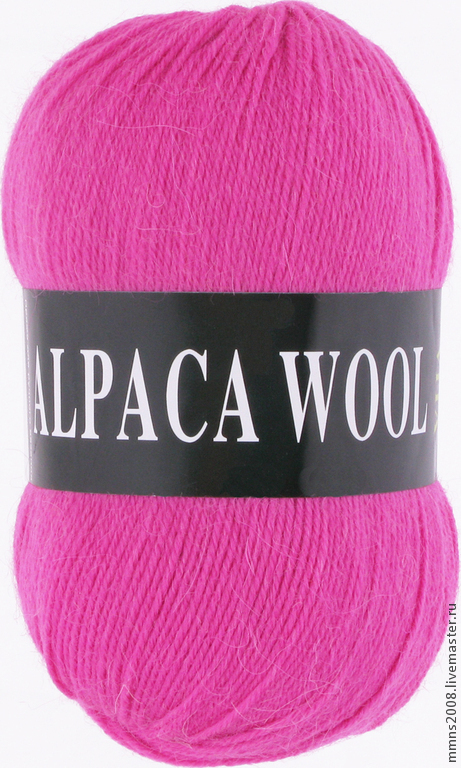 Вязание ручной работы. Ярмарка Мастеров - ручная работа. Купить Пряжа ALPACA WOOL (Vita). Handmade. Пряжа, 40% альпака