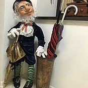 Куклы и игрушки ручной работы. Ярмарка Мастеров - ручная работа Оле Лукойе (хранитель зонтиков ). Handmade.