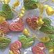 Кулинарные сувениры ручной работы. Заказать Маленькие пряничные сердечки  на свадьбу. Дарья и Анжела Имбирное печенье (sladkymir). Ярмарка Мастеров.