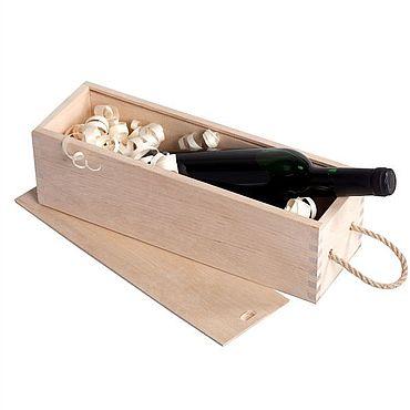 Цветы и флористика ручной работы. Ярмарка Мастеров - ручная работа Кашпо: ящик для вина. Handmade.