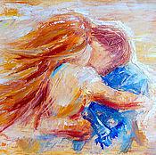 """Картины и панно ручной работы. Ярмарка Мастеров - ручная работа Картина """"Любовь..."""". Handmade."""