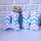 Для дома и интерьера ручной работы. Ярмарка Мастеров - ручная работа Буквы-подушки. Handmade.