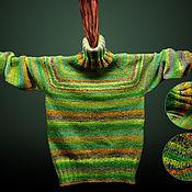 Одежда ручной работы. Ярмарка Мастеров - ручная работа Женский свитер из Noro. Handmade.