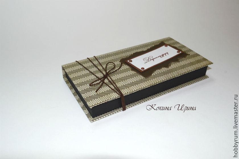 Мужская коробочка для денежного подарка, Конверты, Санкт-Петербург, Фото №1