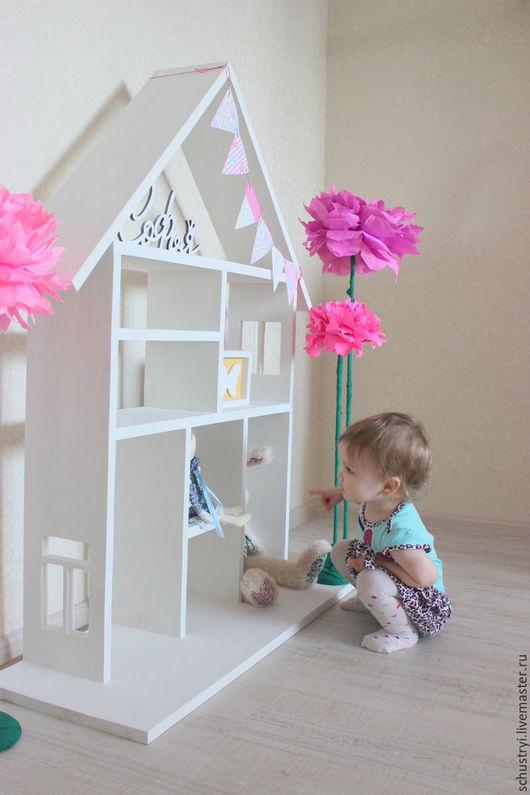 Детская ручной работы. Ярмарка Мастеров - ручная работа. Купить Детский кедровый домик Для Софьи. Handmade. Белый