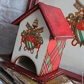 """Для дома и интерьера ручной работы. Ярмарка Мастеров - ручная работа Чайный домик """"Геральдика"""". Handmade."""