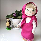 """Куклы и игрушки ручной работы. Ярмарка Мастеров - ручная работа Маша из м/ф """"Маша и медведь"""". Handmade."""