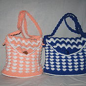 Работы для детей, ручной работы. Ярмарка Мастеров - ручная работа вязаная сумочка детская. Handmade.