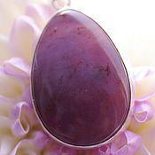 Украшения handmade. Livemaster - original item Ring with purple chalcedony