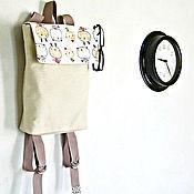 Сумки и аксессуары ручной работы. Ярмарка Мастеров - ручная работа Медведики. Городской рюкзак для девушки. Handmade.
