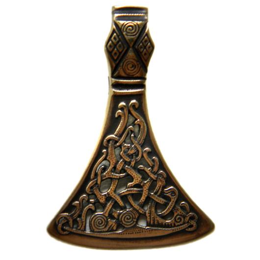 """Кулоны, подвески ручной работы. Ярмарка Мастеров - ручная работа. Купить Кулон """"Секира"""" (1). Handmade. Кельтский, Один, кулон"""