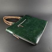 Сумки и аксессуары handmade. Livemaster - original item Women`s leather bag folder. Women`s leather bag.. Handmade.