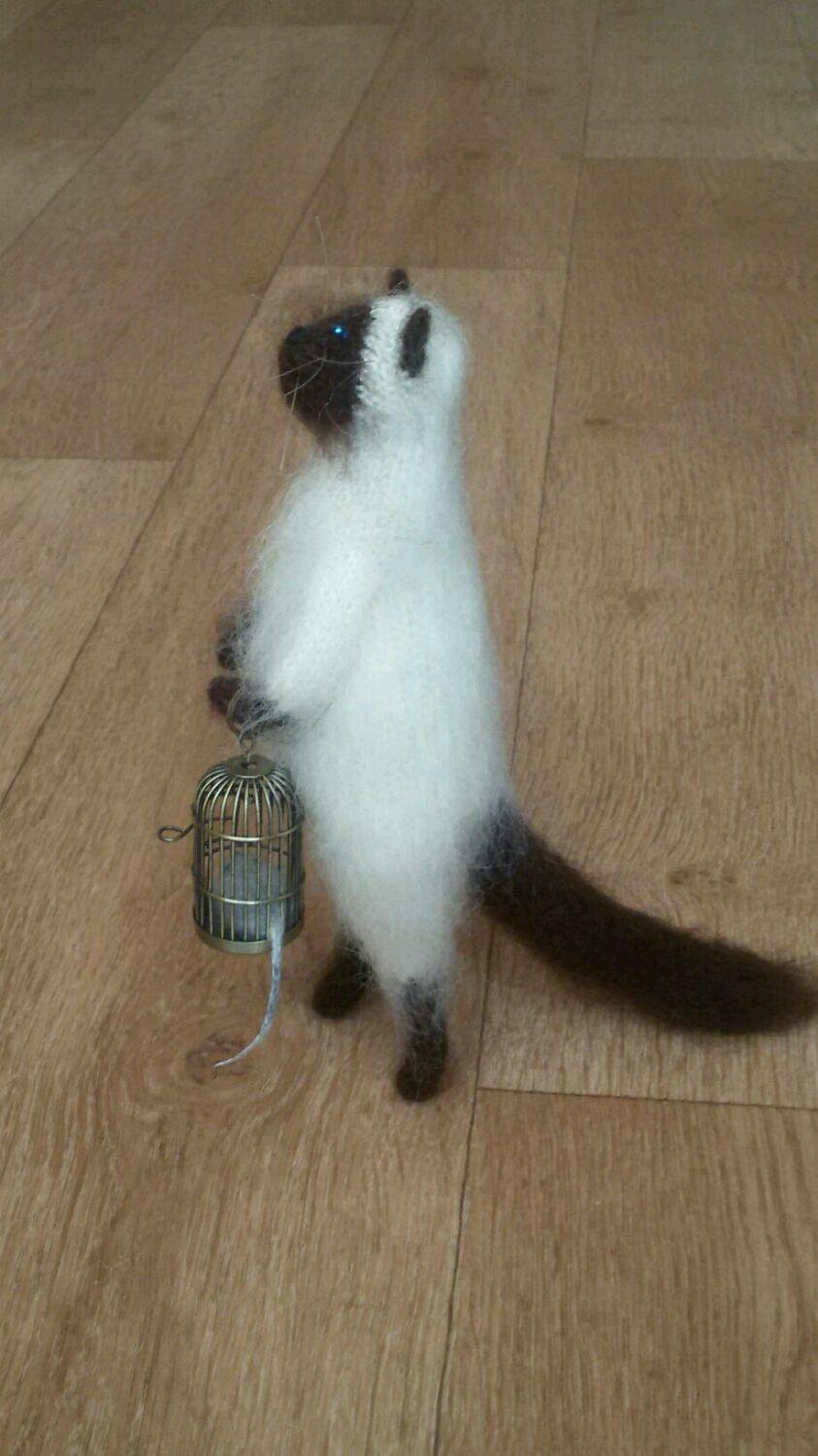 Коты в сметане игрушка