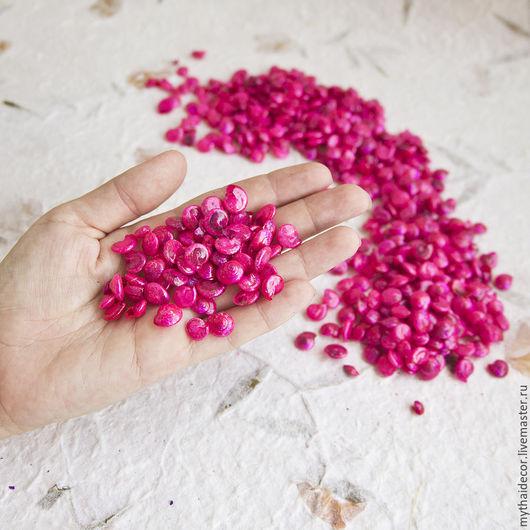 Другие виды рукоделия ручной работы. Ярмарка Мастеров - ручная работа. Купить 100 гр розовые морские ракушки. Handmade.