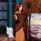 Одежда handmade. Livemaster - original item Handmade Felted coat Marinilka. Handmade.