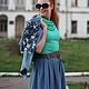 Юбки ручной работы. Заказать Джинсовая юбка 60-е. Natalia Zorina. Ярмарка Мастеров. Авторская ручная работа
