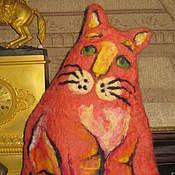 Для дома и интерьера ручной работы. Ярмарка Мастеров - ручная работа Рыжий кот. Handmade.