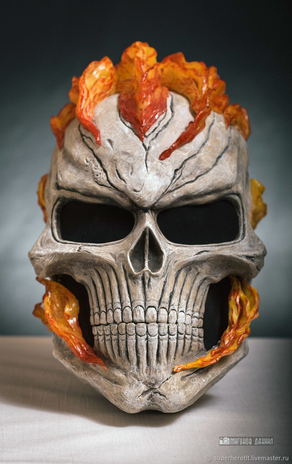 Helmet Ghost Rider From The Tv Series Agents Of Shield