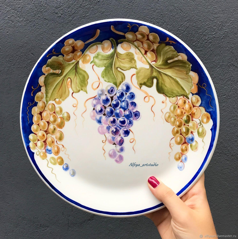 итальянский виноград, Тарелки, Москва, Фото №1
