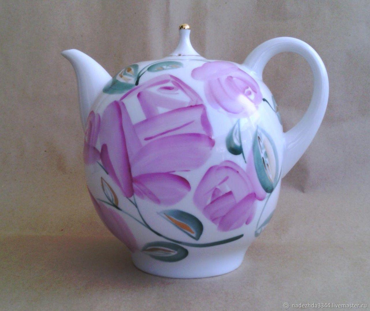 Large teapot factory, 2 litres, Vintage teapots, Moscow,  Фото №1