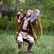 Куклы и игрушки ручной работы. Ярмарка Мастеров - ручная работа Шаман 4. Авторская кукла Елены Ким. Handmade.