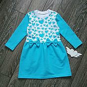 Dress handmade. Livemaster - original item Knitted dress for girls.. Handmade.
