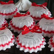 """Свадебный салон ручной работы. Ярмарка Мастеров - ручная работа Мыло """"Свадебная пуговка"""". Handmade."""