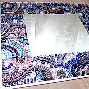 Для дома и интерьера ручной работы. Ярмарка Мастеров - ручная работа зеркало, стекло, фьюзинг  Парад Планет. Handmade.