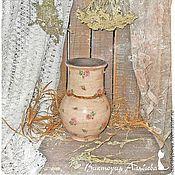 """Для дома и интерьера ручной работы. Ярмарка Мастеров - ручная работа Крынка """"Розовое счастье"""". Handmade."""