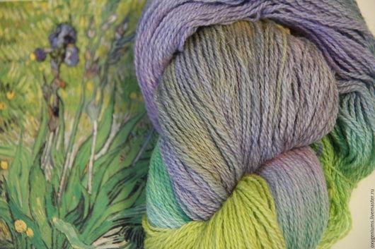 Вязание ручной работы. Ярмарка Мастеров - ручная работа. Купить Пряжа Irises / Ирисы. Handmade. Комбинированный, вязание, irises