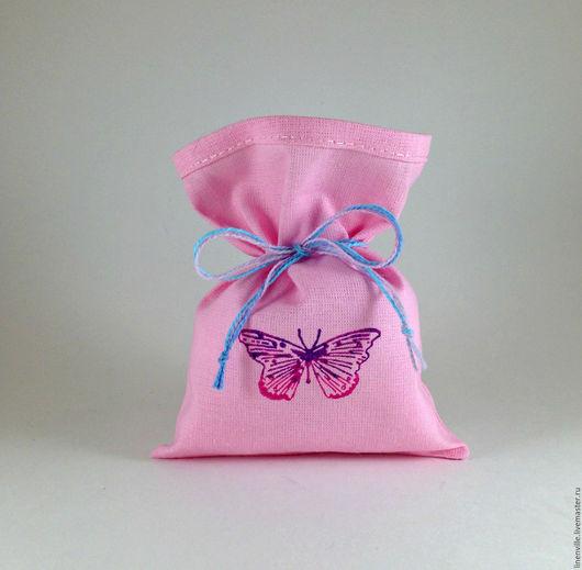 Подарочная упаковка ручной работы. Ярмарка Мастеров - ручная работа. Купить Мешочки Бабочка. Handmade. Упаковка, упаковка для мыла