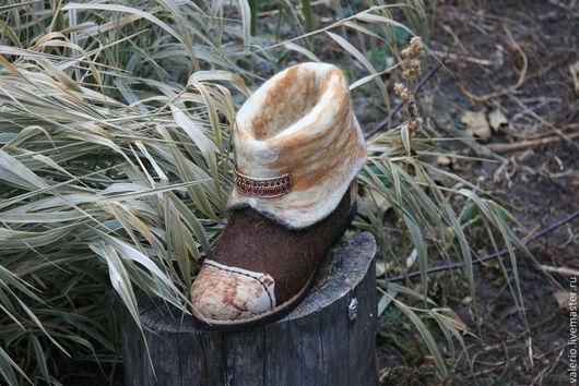 Обувь ручной работы. Ярмарка Мастеров - ручная работа. Купить Кантри. Handmade. Коричневый, обувь, мода 2014