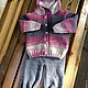 Одежда для девочек, ручной работы. Ярмарка Мастеров - ручная работа. Купить Вязаный костюм для девочки. Handmade. Разноцветный, Вязаный комплект