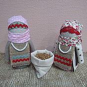 Куклы и игрушки ручной работы. Ярмарка Мастеров - ручная работа Кукла крупеничка (зерновушка). Handmade.