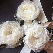 Свадебный салон handmade. Livemaster - original item Bracelets povyazochki on hand for bridesmaids. Handmade.