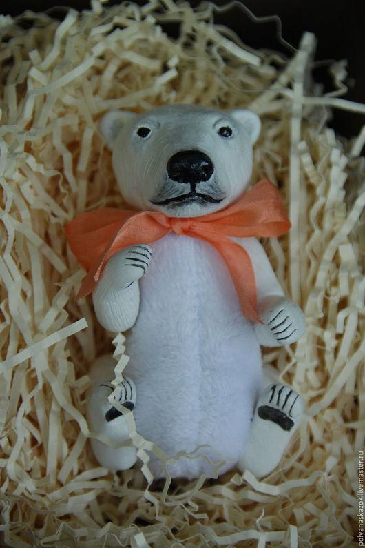 Куклы и игрушки ручной работы. Ярмарка Мастеров - ручная работа. Купить Полярный медведь. Handmade. Белый, медвежонок, мимимишки