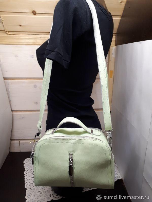 handbag made of genuine leather, Classic Bag, Zvenigorod,  Фото №1
