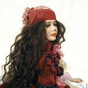 Куклы и игрушки ручной работы. Ярмарка Мастеров - ручная работа Гранатовый браслет. Авторская кукла.. Handmade.