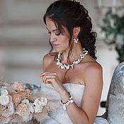 Украшения handmade. Livemaster - original item Necklace, bracelet and earrings ART. 30625. Handmade.